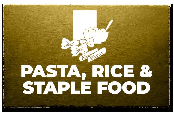 Pasta, Rice & Staple Food