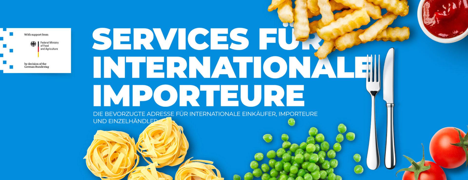 Services für internationale Importeure