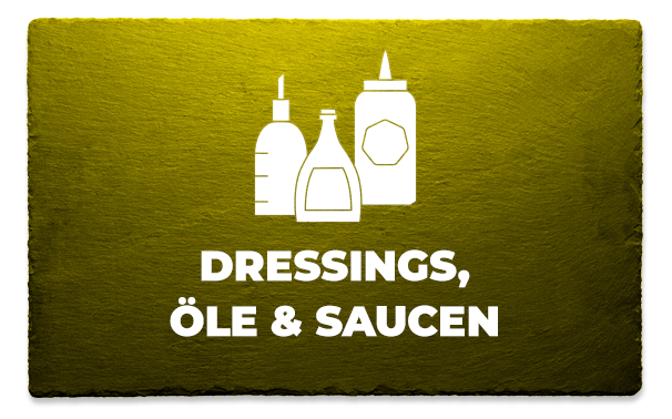 Dressings, Öle & Saucen