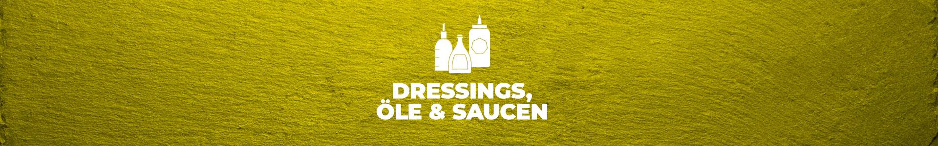 Dressings, Öle & Saucen
