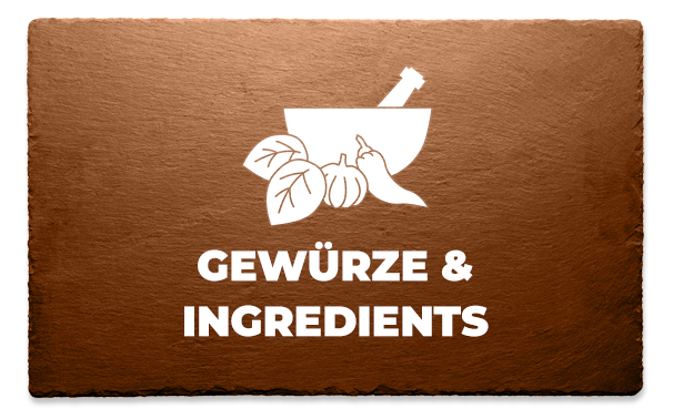 Gewürze & Ingredients