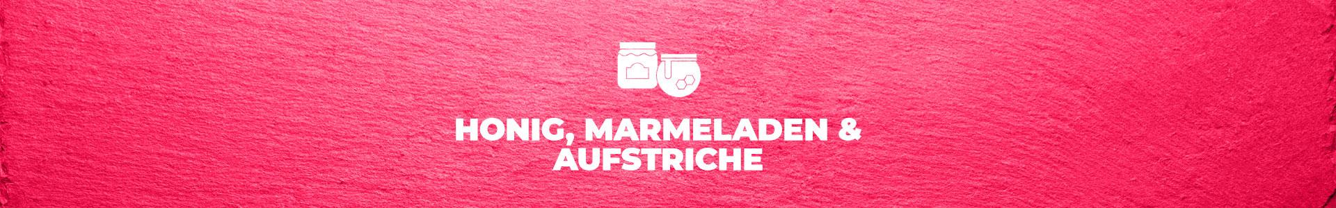 Honig, Marmeladen & Aufstriche