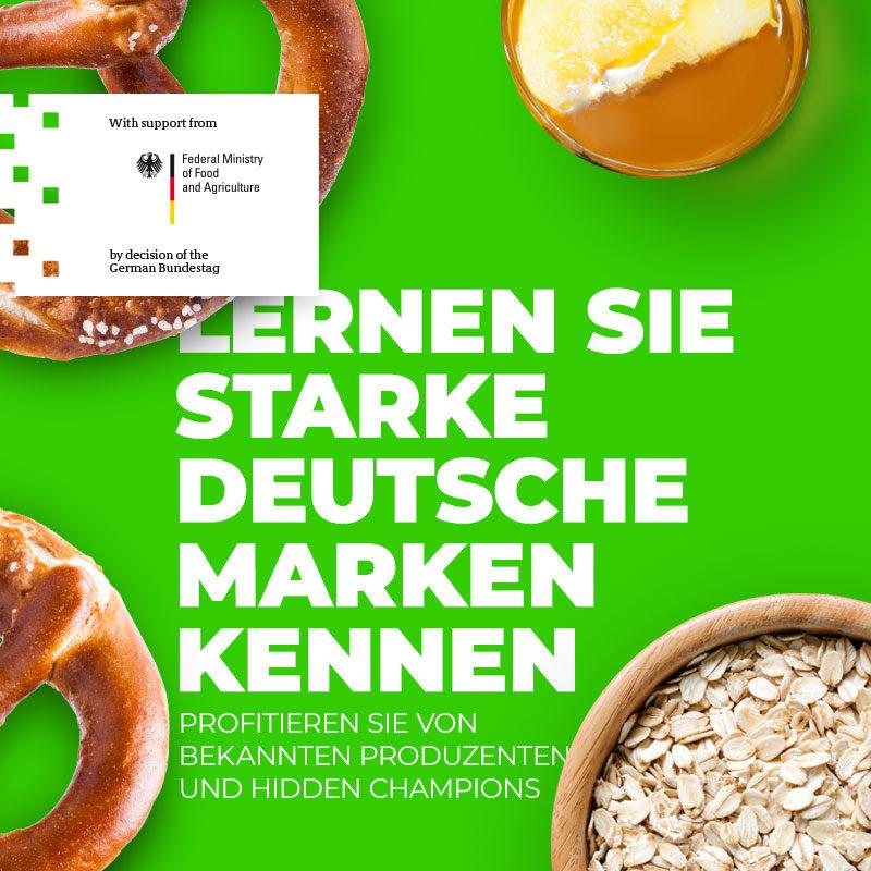 Lernen Sie starke deutsche Marken kennen